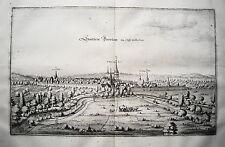 Bockenem im Stift Hildesheim seltener  echter alter Merian Kupferstich  1653