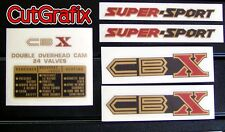 CutGrafix Honda CBX 1000 restoration decal set '79-80