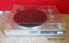 Vintage Sony Silver PS-LX310 Direct-drive Stereo Audio Turntable Good Cart/Stylu