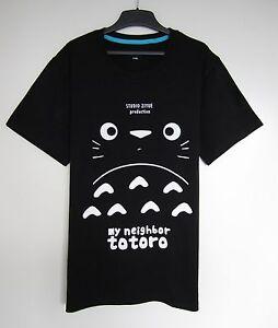 Studio My Neighbour Totoro Cute Comfort 100% Cotton Unique Design T-shirt