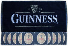 Guinness Bar Towel & 10 Coasters