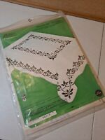 Vintage Paragon Cross Stitch Fleur De Lys Table Cloth Kit 0100