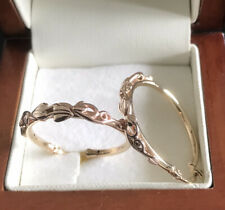 Yellow And Rose Gold Hoop Earring Possibly Clogau 3.86g