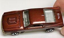 Hot Wheels Redline Choc. Brown Custom Mustang Vintage Series MINT China Release