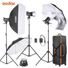 Godox SK300-D 3 * 300WS Studio Photo Strobe Flash Light Kit with Light Stand