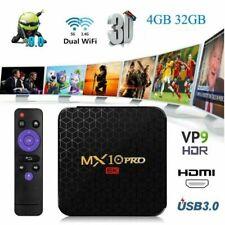 MX10 PRO 4K Android 9.0 Smart TV Box H6 6K Wifi Quad core 4GB 32GB Media Player