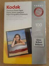 Kodak Photo Printer Paper Premium 4x6 100 Sheets New Sealed