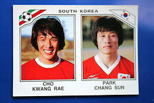 Panini WC MEXICO 86 STICKER N. 96 SOUTH KOREA RAE SUN  WITH BACK VERY GOOD/MINT