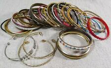 Vintage Disfraz & Fashion Jewellery Trabajo-LOT BUNDLE-Lote Mixto Metal Brazaletes 003