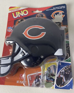 Chicago Bears 2006 UNO Card Game Special Edition Helmet Case Roster Pictures