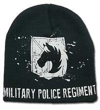 Attack on Titan Military Police Regiment Beanie Hat Cap ~ Licensed ~ NEW
