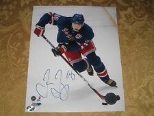 JAROMIR JAGR AUTOGRAPHED NEW YORK RANGERS 8X10 PHOTO NHL HOFer
