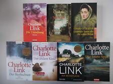 7x Charlotte Link Büchersammlung - Die Betrogene... usw. Taschenbücherpaket