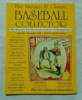 #4 December 1995 Vintage & Classic Baseball Collector Magazine (VCBC)