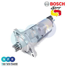 MOTORINO AVVIAMENTO VW GOLF AUDI A3 mod 8P BOSCH 0986020280 02E911023H