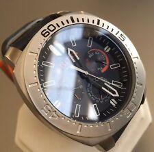 Mens Genuine Hugo Boss Orange Large Black Designer Watch Luminor marina Case