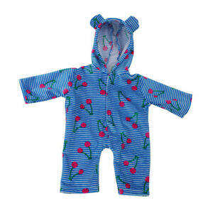 18inch Doll Clothing - Blue Stripe Jumpsuit Rompers For  Doll