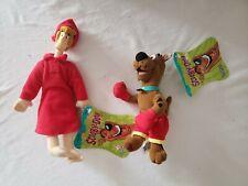 Scooby Doo Boxing Gloves & Shaggy Pajamas Plush Doll