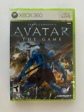 James Cameron's Avatar the Game Xbox 360 Brand New Factory Sealed