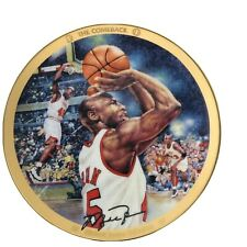 "Michael Jordan Collection ""The Comeback"" Upper Deck Bradford Collector Plate COA"
