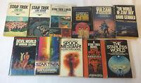 lot of 11 STAR TREK books ~ 1970s-1980s