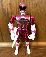 "Pink Ranger Vintage Power Rangers Movie 8"" Action Figure Complete 1995 Bandai"