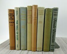 Vintage Mid-Century Shelf Book Lot - Distressed Pastel Shabby Chic Wedding Prop