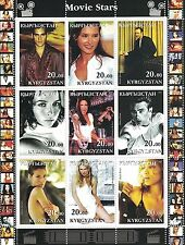 JOAQUIN PHOENIX KEVIN SPACEY MONICA BELLUCI JAMES DEAN 2001 MNH STAMP SHEETLET