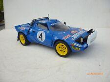 "1:18 Diecast 1974 Lancia Stratos ""Rally Version""  BLUE By Solido V.Rare Ohne Box"