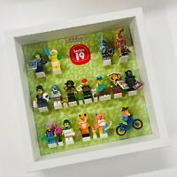 Display Frame for Lego Series 19 Minifigures 71025  No Figures 27cm