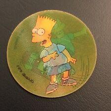 The Simpson's 1996 Magic Motion Holographic Tazo #177 BART Simpson