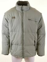 FILA Mens Padded Jacket Size 44 2XL Green Polyamide  BY22