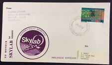 1973  space/rocket cover - to honour Skylab from bureau of meteorology Brisbane