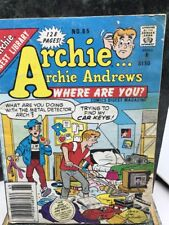 The Archie Digest Library: Archie...Archie Andrews Where Are You? No. 65