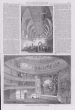 1867 Antique Print - LONDON QUEENS THEATRE SEAMEN ORPHAN ASYLUM SNARESBROOK (168