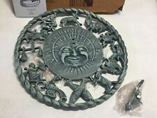 Rome Astro Sundial - 2577 Cast Iron with Verdigris Nib 1997?