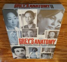 Grey's Anatomy: The Complete Second Season (DVD, Uncut Version) 2 tv show NEW
