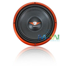 """NEW CADENCE S1W12-D4 12"""" DUAL 4-OHM S-Series CAR SUBWOOFER SUB WOOFER S1W12D4"""