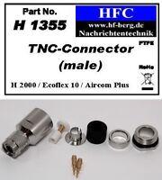 1 Stück TNC-Stecker Ecoflex 10 / Aircom Plus / H 2000 Flex® - 50 Ω (H1355)