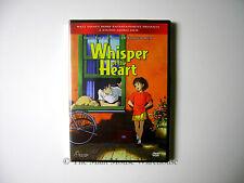 Studio Ghibli Whisper of the Heart DVD Thorne-Smith David Gallagher Cary Elwes