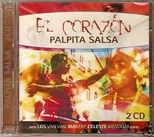 El Corazon Palpita Salsa - 28 Various Salsa Tracks (2CD 2005) NEW/SEALED