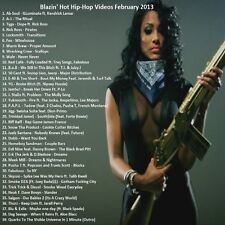 Promo Video Compilation DVD, Blazin Hot Hip Hop February 2013, NEW ONLY on Ebay!