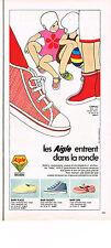PUBLICITE  1968   AIGLE  BABY  chaussures détente enfants