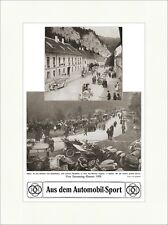 Aus dem Automobil-Sport, Vom Semmering-Rennen 1909 Schottwien Sport Berg F 0046