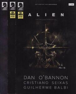 ALIEN: THE ORIGINAL SCREENPLAY #1,2,3,4,5 SET Dark Horse Comics Predator Aliens