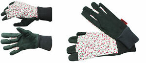 Women Gardening Leather Gloves 10112