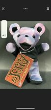 Grateful Dead Jerry Plush Beanie Bear Edition 2 By Liquid Blue New