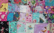 1/2 YARD Trolls Care Bear Hello Kitty Disney Strawberry Shortcake Cotton Fabric