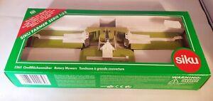 Siku Farm (Britains) 2265 Class Rotary Mower Set, Grass Cutter Boxed - Superb