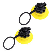2x Kiteboard Kitesurfing Screw Valve with Cap for Kite Inflating/Deflating
